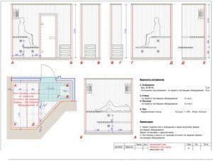 Проектирование сауны в доме