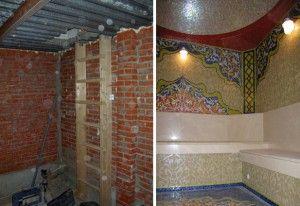 Турецкая баня под ключ